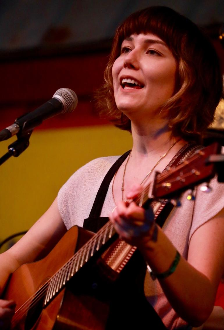 Molly Tuttle at Albino Skunk Festival Spring 2018