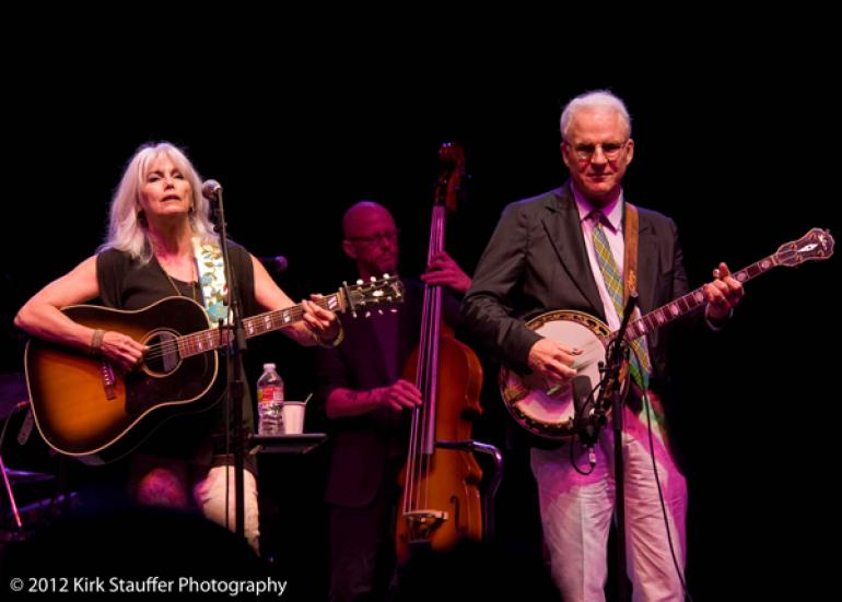 Emmylou Harris and Steve Martin @ Chateau Ste. Michelle Winery