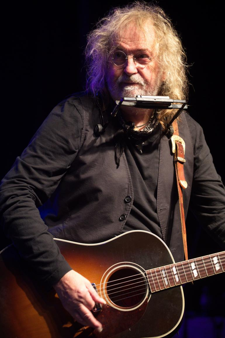 Ray Wylie Hubbard at Riverhawk Music Festival 2017