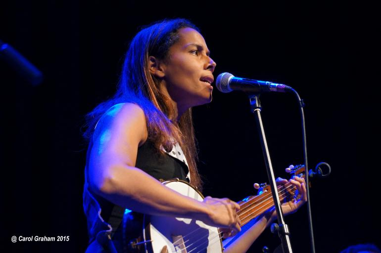 Rhiannon Giddens at Southern Fried, Perth