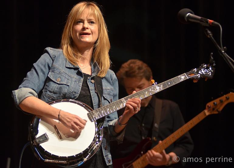 Alison Brown, Mountain Stage, Morgantown, WV, April 12, 2015