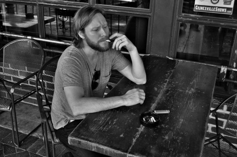 Cory Branan Smoking at Loosey's G'vlle, FL