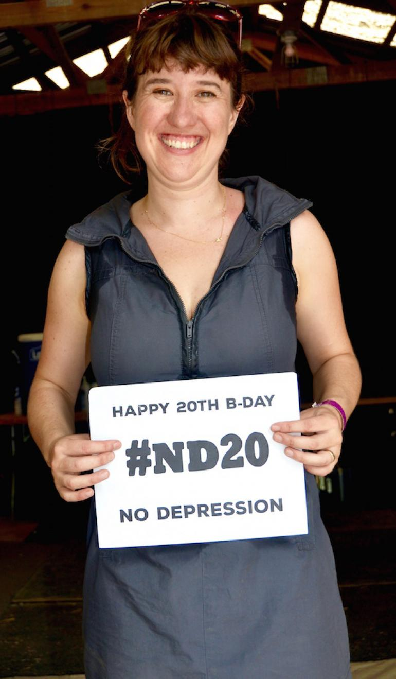 Anna Coogan Wishes No Depression a Happy 20th Birthday