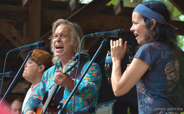 Jim Lauderdale and Tara Nevins, Shakori Hills Grassroots Festival, April 18, 2015