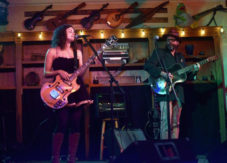 Amy LaVere and Will Sexton, The Purple Fiddle, Thomas, WV, June 24, 2015