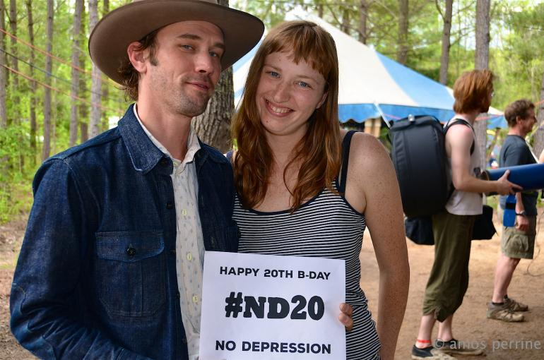 Happy Birthday from Willie Watson and Rosie Newton, Shakori Hills Grassroots Festival