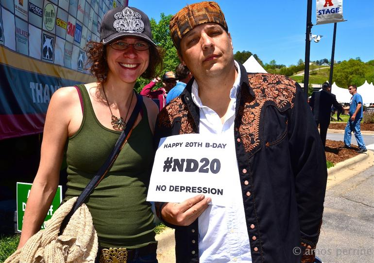 Happy Birthday from Jeb Puryear and Erin Scholze, MerleFest 2015, #ND20