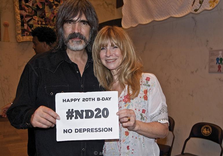 Happy Birthday from Larry Campbell and Teresa Williams