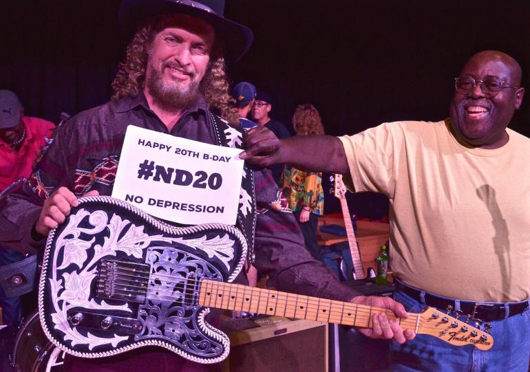 Happy Birthday No Depression from Billy Payne, Waylon Jennings' Guitar and Charlie Tee