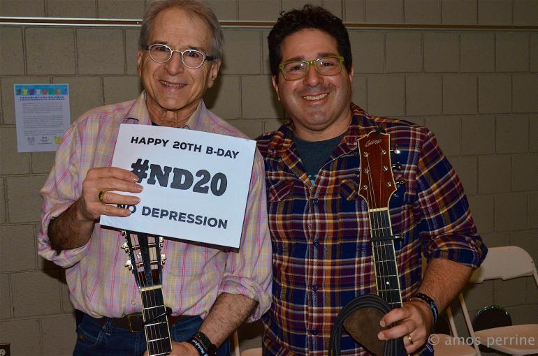 Happy Birthday from Happy Traum and Adam Traum, MerleFest 2015, #ND20