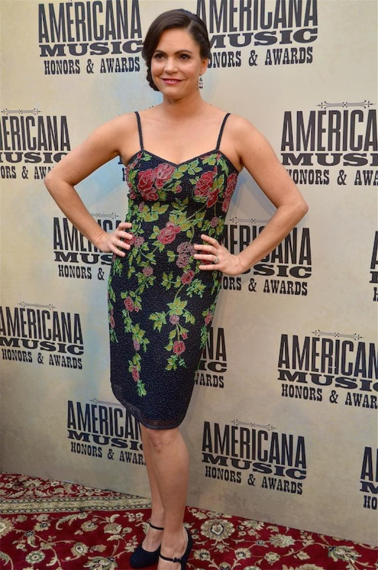Angaleena Presley, AMA Red Carpet, The Ryman, Nashville, September 17, 2014