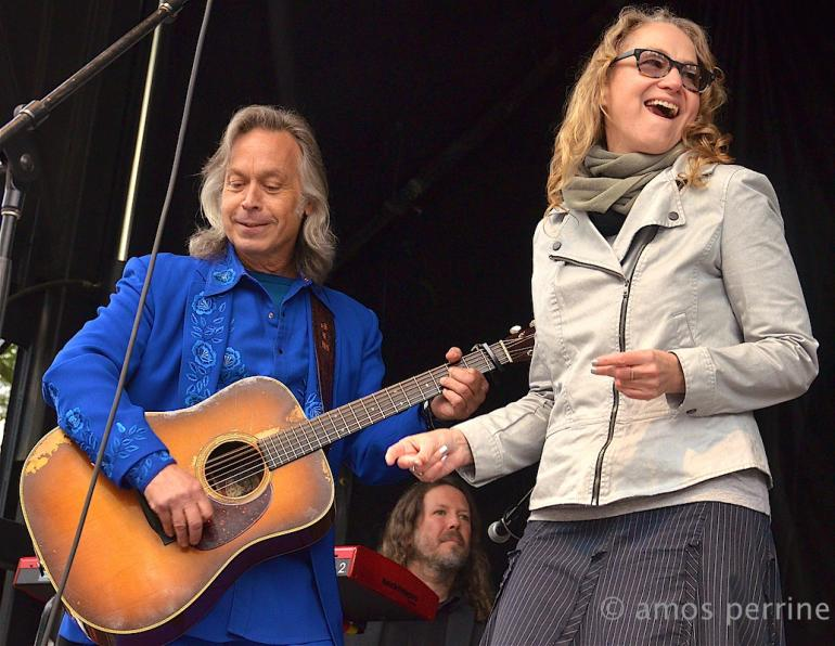 Jim Lauderdale and Joan Osborne, The Hillside Album Hour, MerleFest, April 25, 2015
