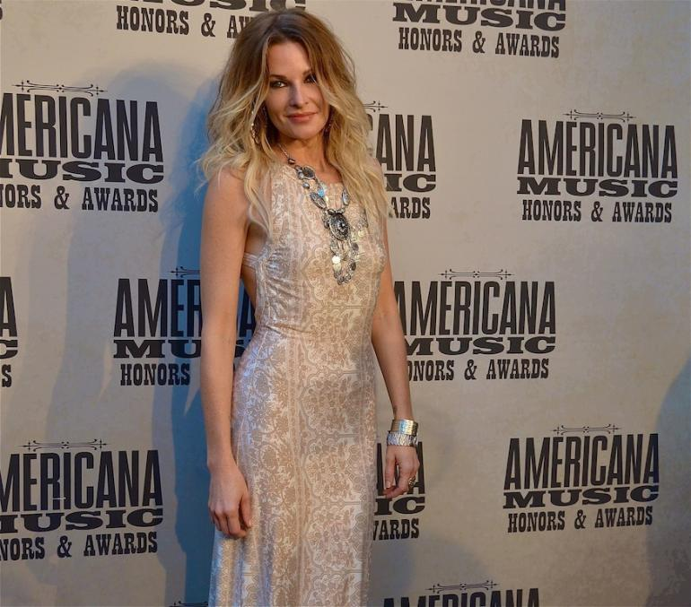 Elizabeth Cook, AMA Red Carpet, The Ryman, Nashville, September 17, 2014