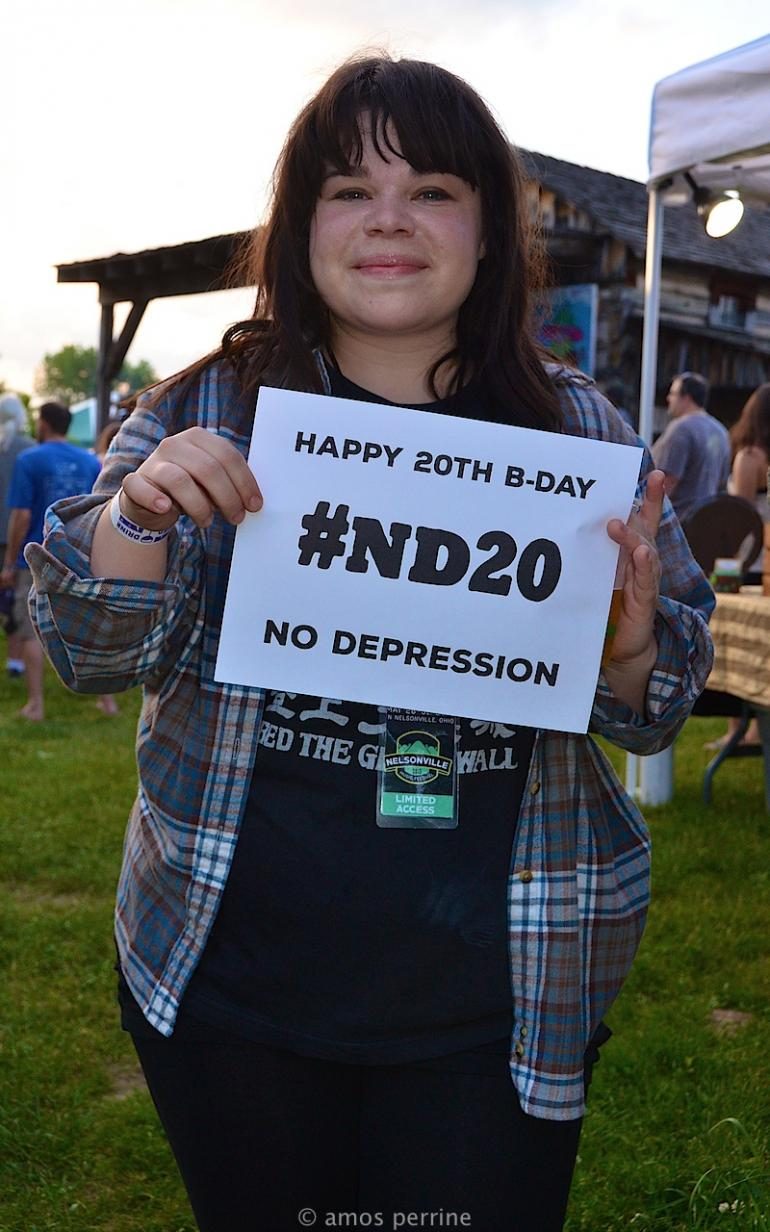Happy Birthday from Samantha Crain, Nelsonville Music Festival, May 28, 2015