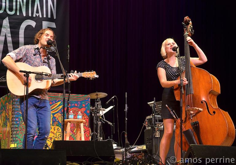 Tattletale Saints on Mountain Stage