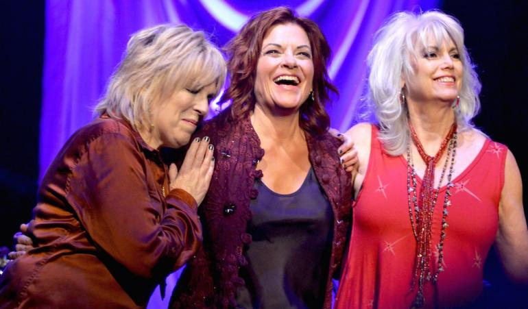 Rosanne Cash, Lucinda Williams and Emmylou Harris, Country Music Hall of Fame, Nashville