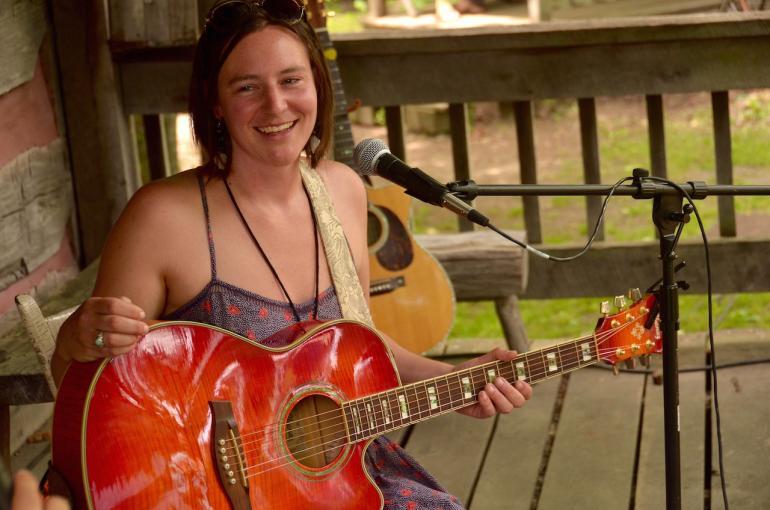Megan Wormz Bihn, Nelsonville Music Festival, Nelsonville, Ohio, May 31, 2015