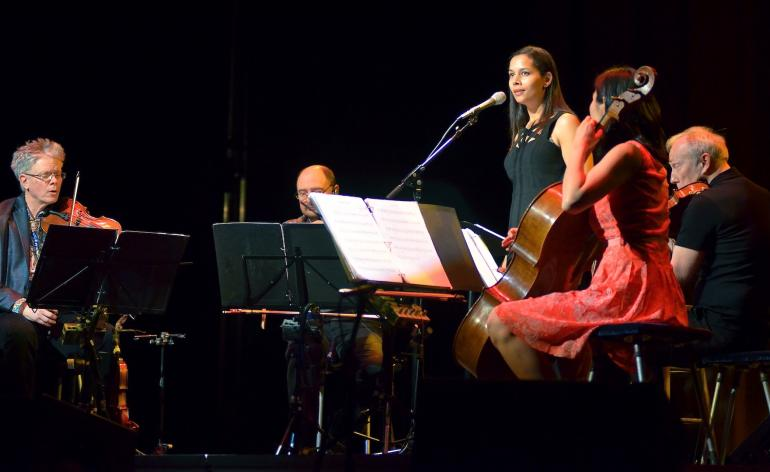 Rhiannon Giddens and the Kronos Quartet, Big Ears Festival, Knoxville, TN, March 28, 2015