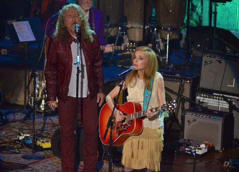 Patty Griffin and Robert Plant, AMA Awards, The Ryman, Nashville, September 17, 2014