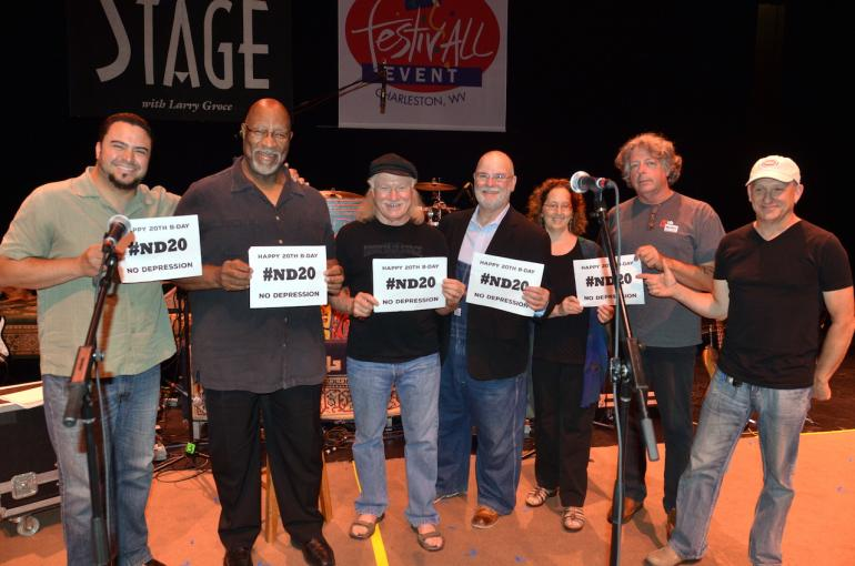 Happy Birthday from Larry Groce, Julie Adams and the The Mountain Stage Band