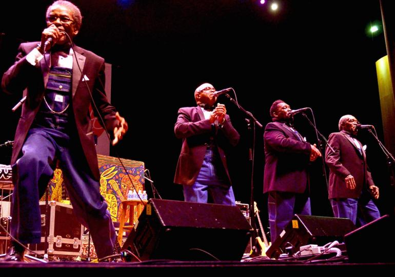 The Fairfield Four, Mountain Stage, June 28, 2015