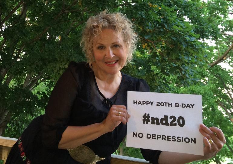 Julie Christensen says Happy Birthday, ND!