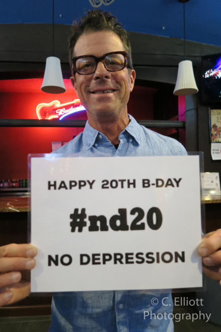 John Convertino of Calexico wishes ND a Happy Birthday!
