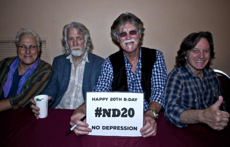 "The Nitty Gritty Dirt Band says ""Happy Birthday, ND!"""