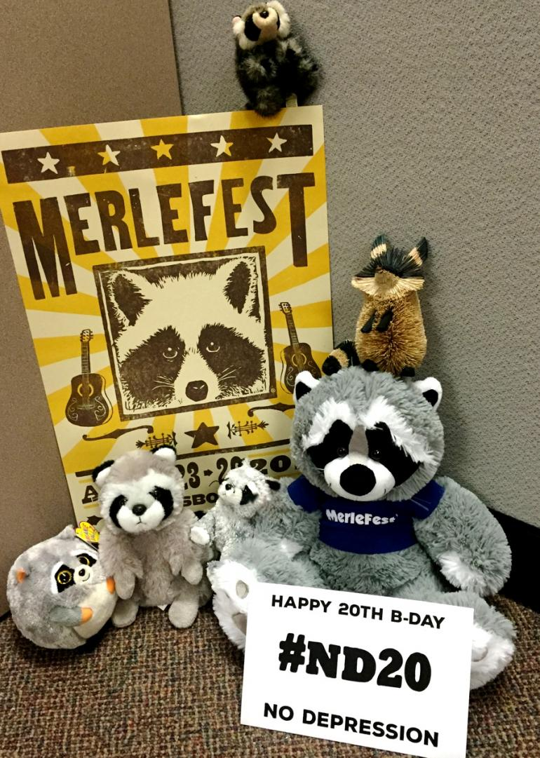 Happy Birthday from Merlefest!