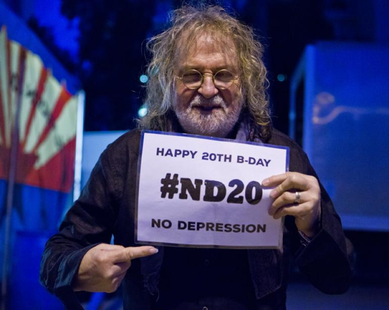 "Ray Wylie Hubbard says, ""Happy Birthday, No Depression!"""