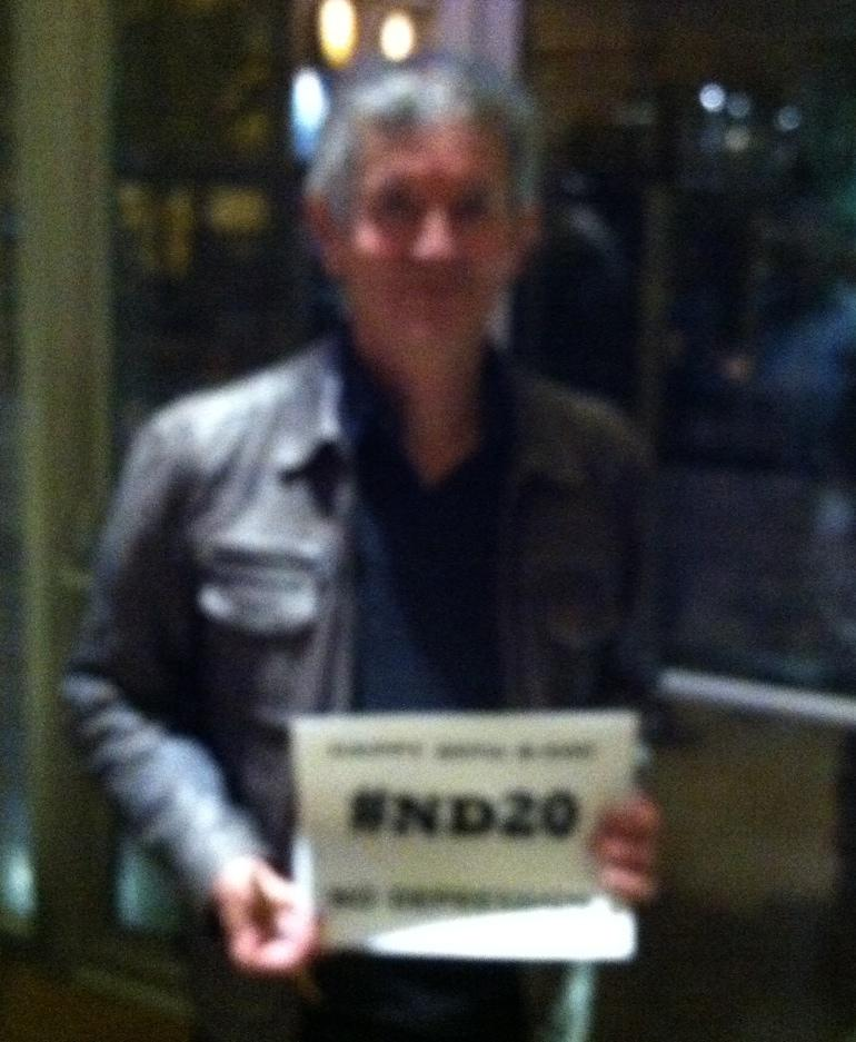 "Rodney Crowell says ""Happy Birthday, ND!"""