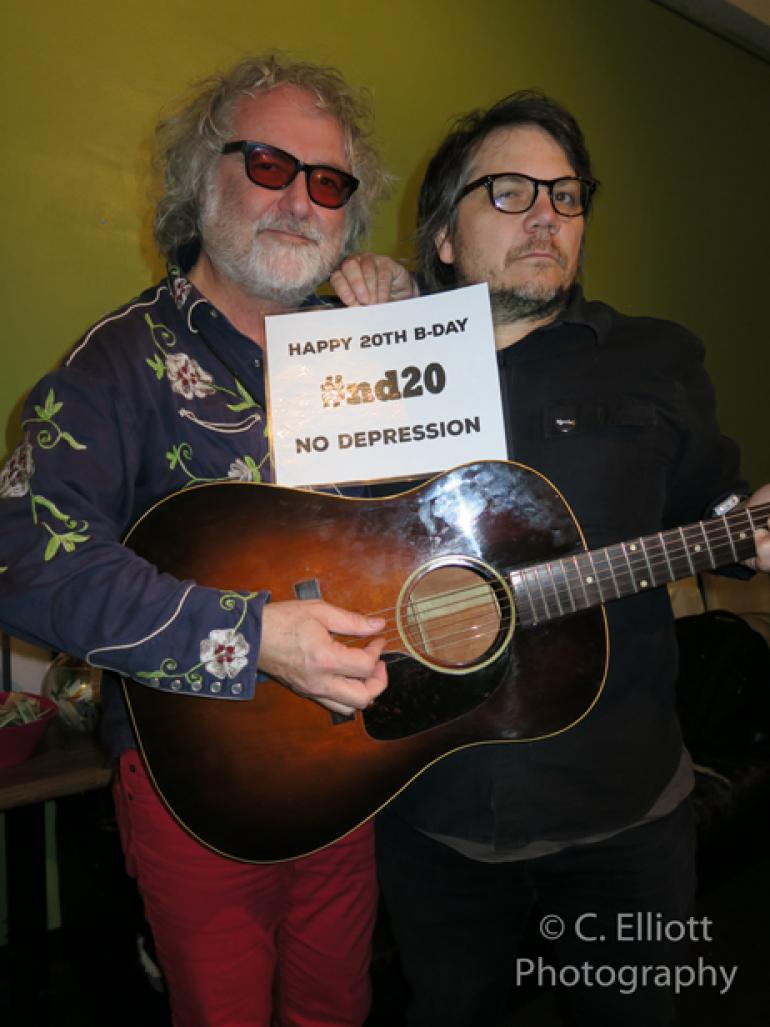 Scott McCaughey & Jeff Tweedy wish ND Happy Birthday