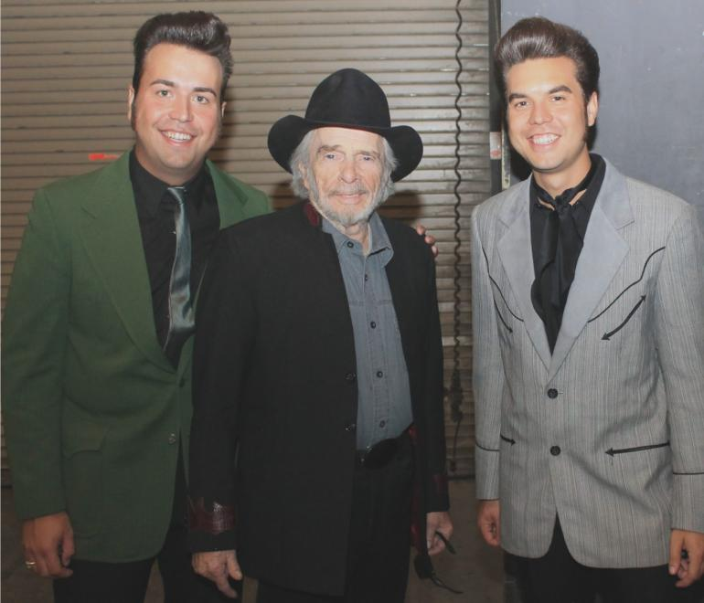 The Malpass Brothers with Merle Haggard