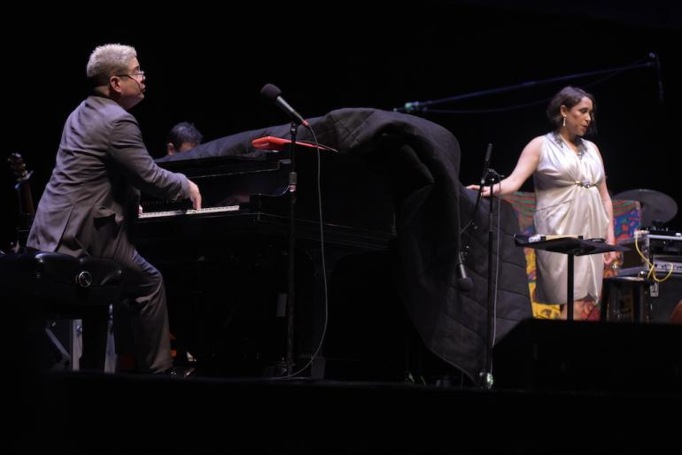 Thomas Lauderdale and China Forbes, Pink Martini, Clay Center, Charleston, West Virginia
