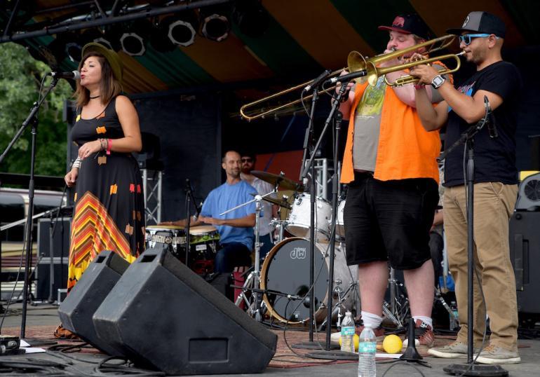 Elastic Bond, Finger Lakes GrassRoots Festival 2017