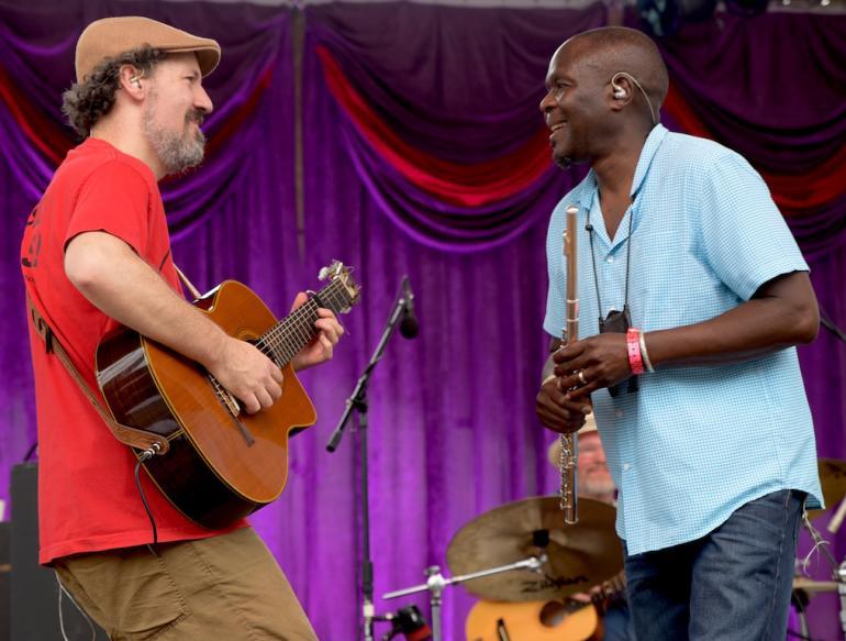 Samite of Uganda, Finger Lakes GrassRoots Festival 2017