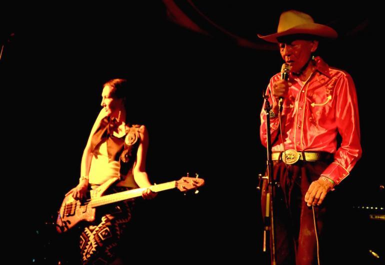 Jonas and Jeneda Benally, Cabaret,  Finger Lakes GrassRoots Festival 2017