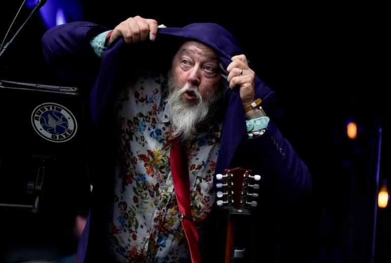 Kevin Russell of Shinyribs, MerleFest 2018