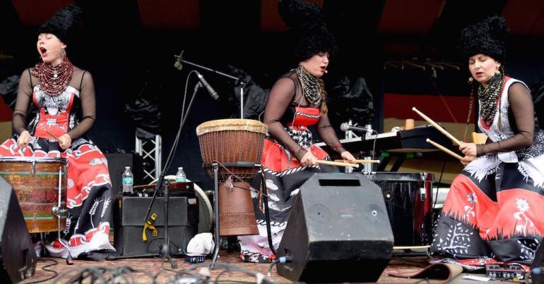 Dakha Brakha, Finger Lakes GrassRoots Festival 2017