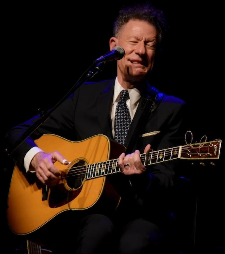 Lyle Lovett at the Keith-Albee