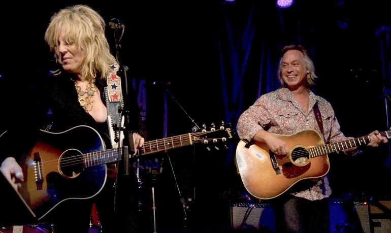 Lucinda Williams and Jim Lauderdale, Americana Music Festival, Nashville, 2013