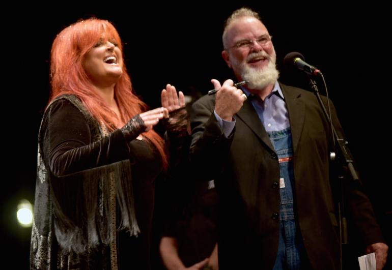 Wynonna and Larry Groce, Mountain Stage 2016