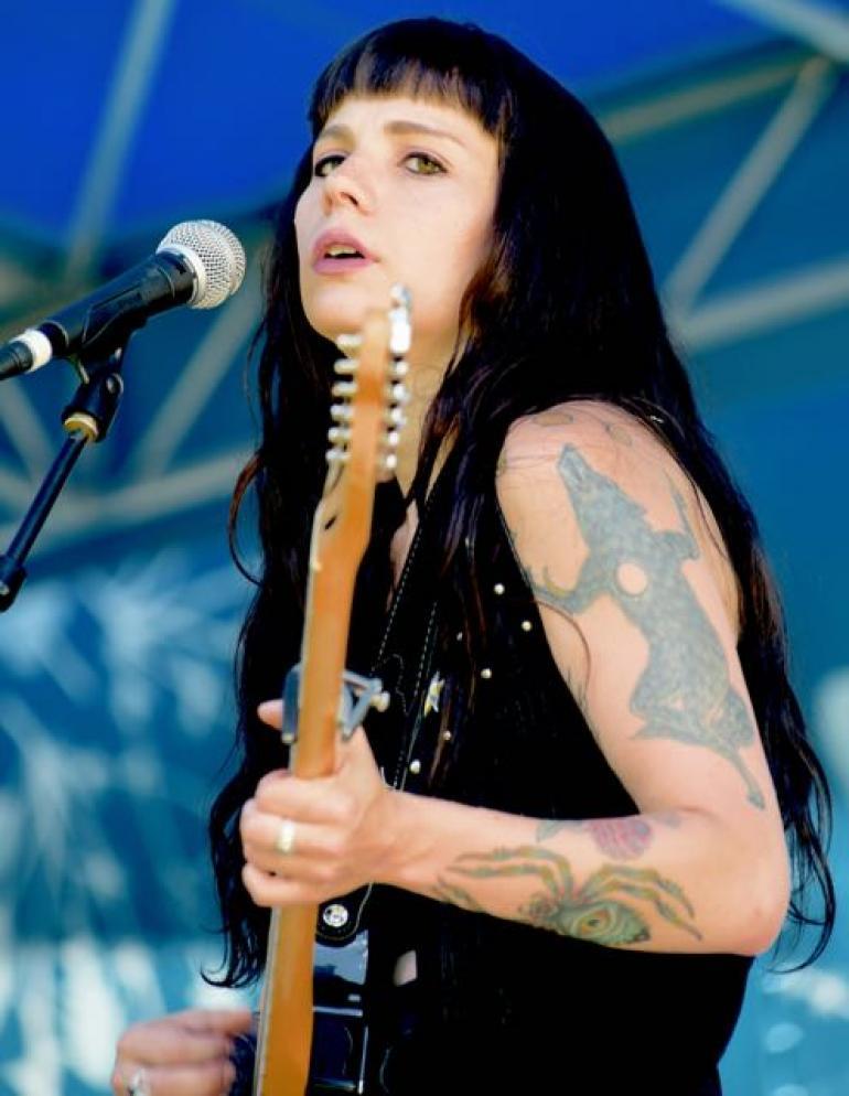 Caitlin Kraus, Nelsonville Music Festival 2017