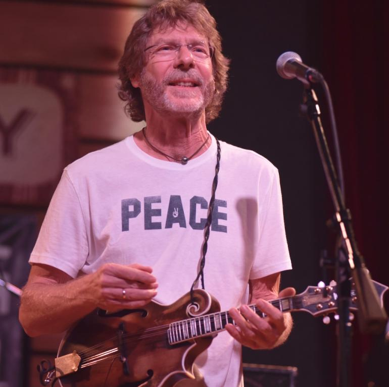 Sam Bush at AmericanaFest 2016