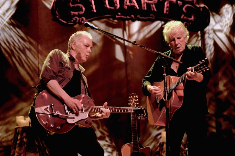 Graham Nash and Shane Fontayne, Stuart's Opera House, Nelsonville, Ohio
