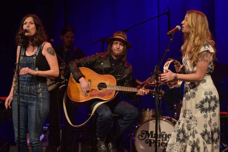 Margo Price, Lilly Hiatt and Aaron Lee Tasjan at AmericanaFest 2016