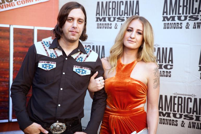 Margo Price and Jeremy Ivey, AmericanaFest 2016 Red Carpet