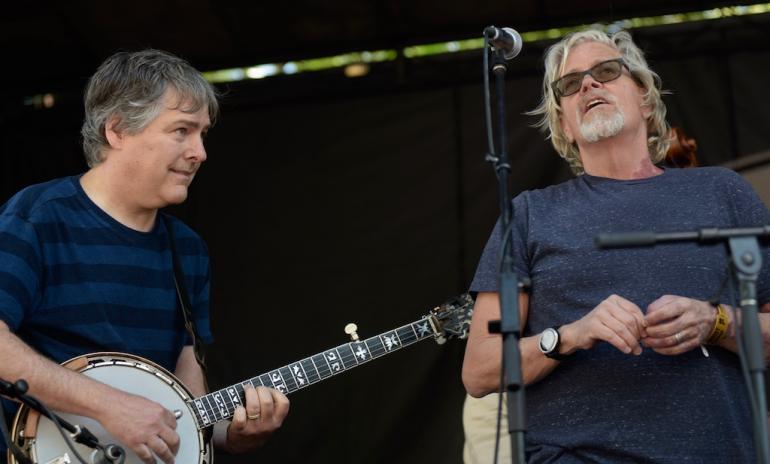 Bela Fleck and John Cowan, MerleFest 2018