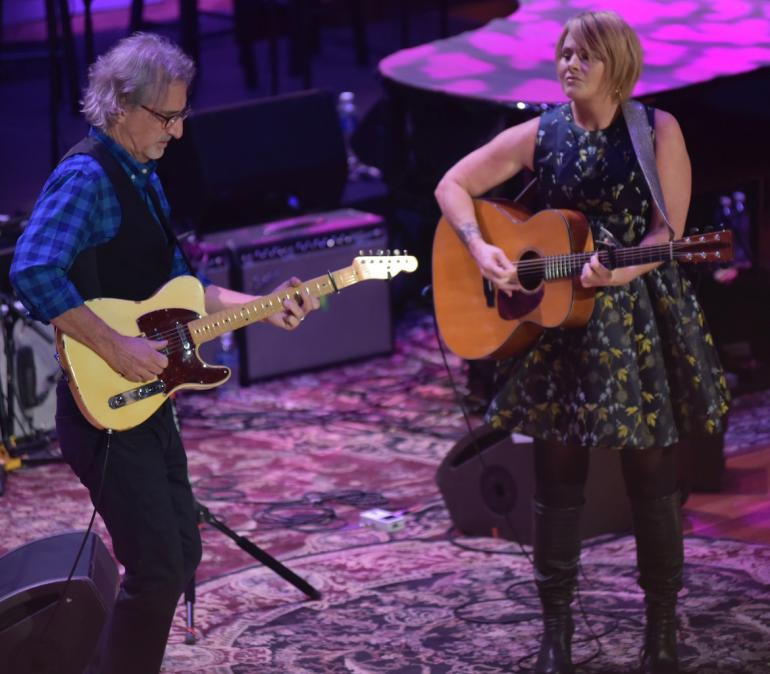 Shawn Colvin and John Leventhal, AMA Awards, AmericanaFest 2016