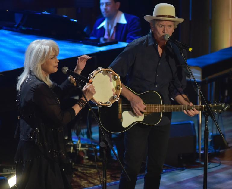 Emmylou Harris and Rodney Crowell, AMA Awards, AmericanaFest 2016